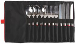 Coleman Rugged 12 Pce Stainless Steel Utensil Kit