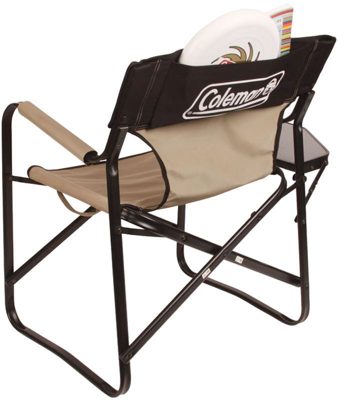 Picture of Coleman Steel Deck Chair + Side Table