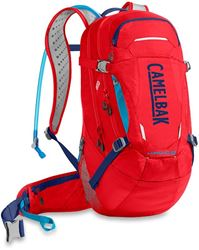 Camelbak Hawg Hydration Pack Racing Red Pitch Blue