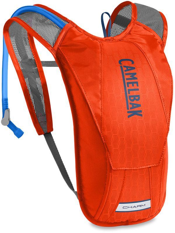 Camelbak Charm Women's Hydration Pack Cherry Tomato Pitch Blue