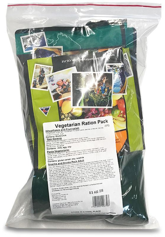Picture of Back Country Cuisine Vegetarian Emergency Ration pack