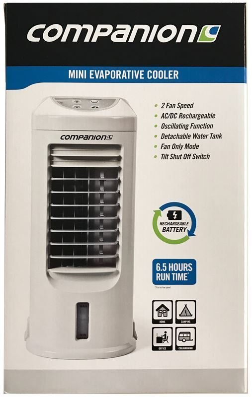 Companion Rechargeable Mini Evaporative Cooler