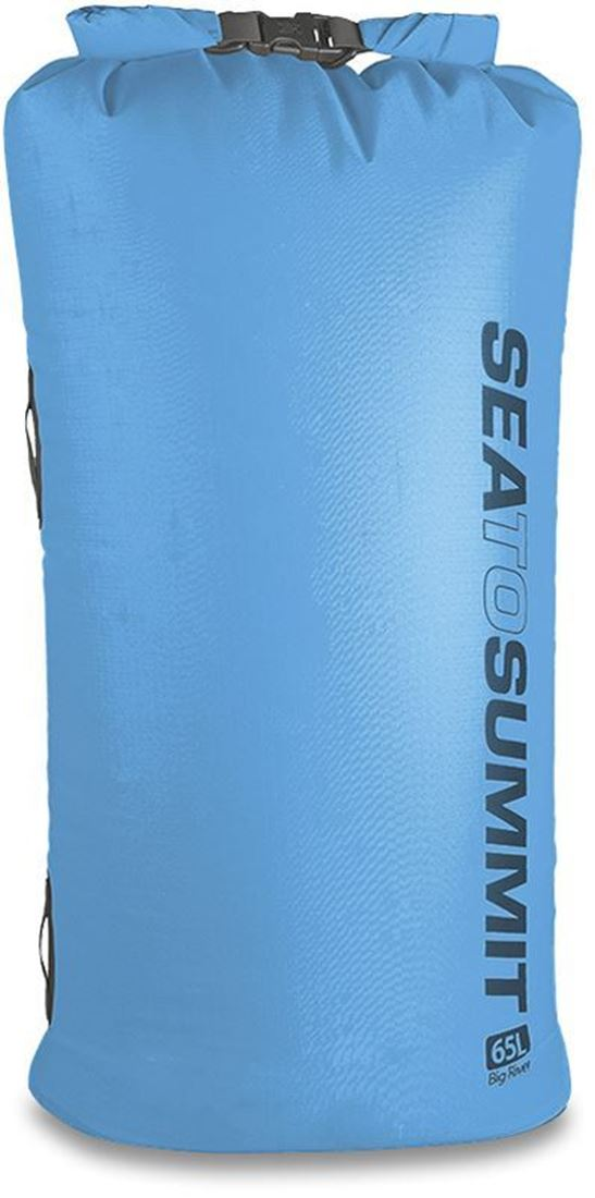 STS Big River Dry Sack 65L Blue