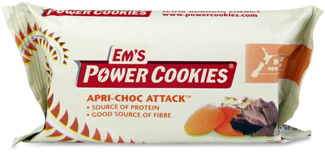 Em's Power Cookies Apri Choc Attack Energy Bar