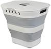 Companion Pop Up Laundry Hamper Basket Grey