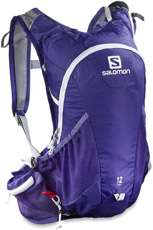 Salomon Agile 12 Set Back Pack Spectrum Blue White