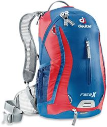 Deuter Race X Bike Backpack Steel Fire