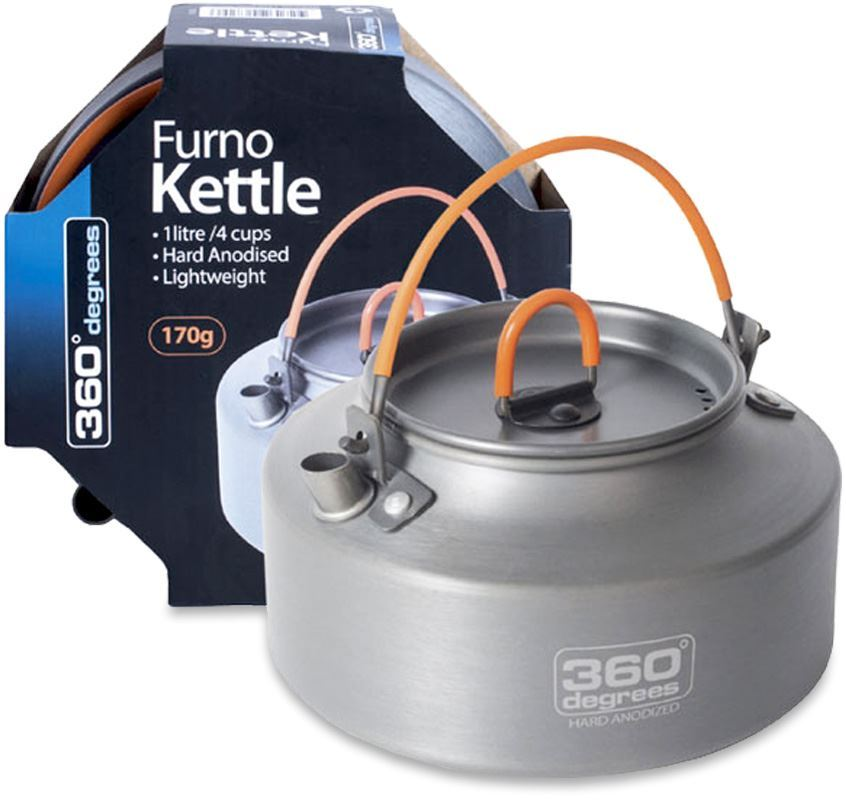 360 Degrees Furno 1L Camp Kettle