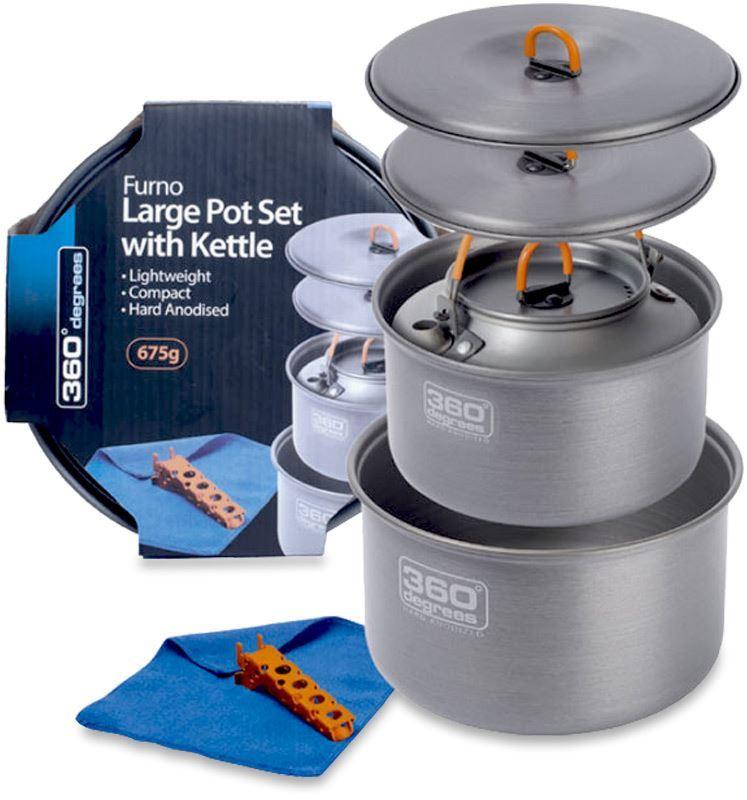 360 Degrees Furno Large Cook Set & Kettle
