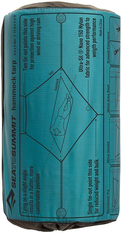 Sea To Summit Hammock Tarp Packaging