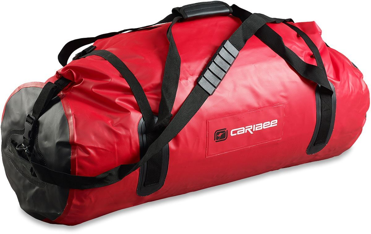 Caribee Expedition Wet Roll Bag 80L Red