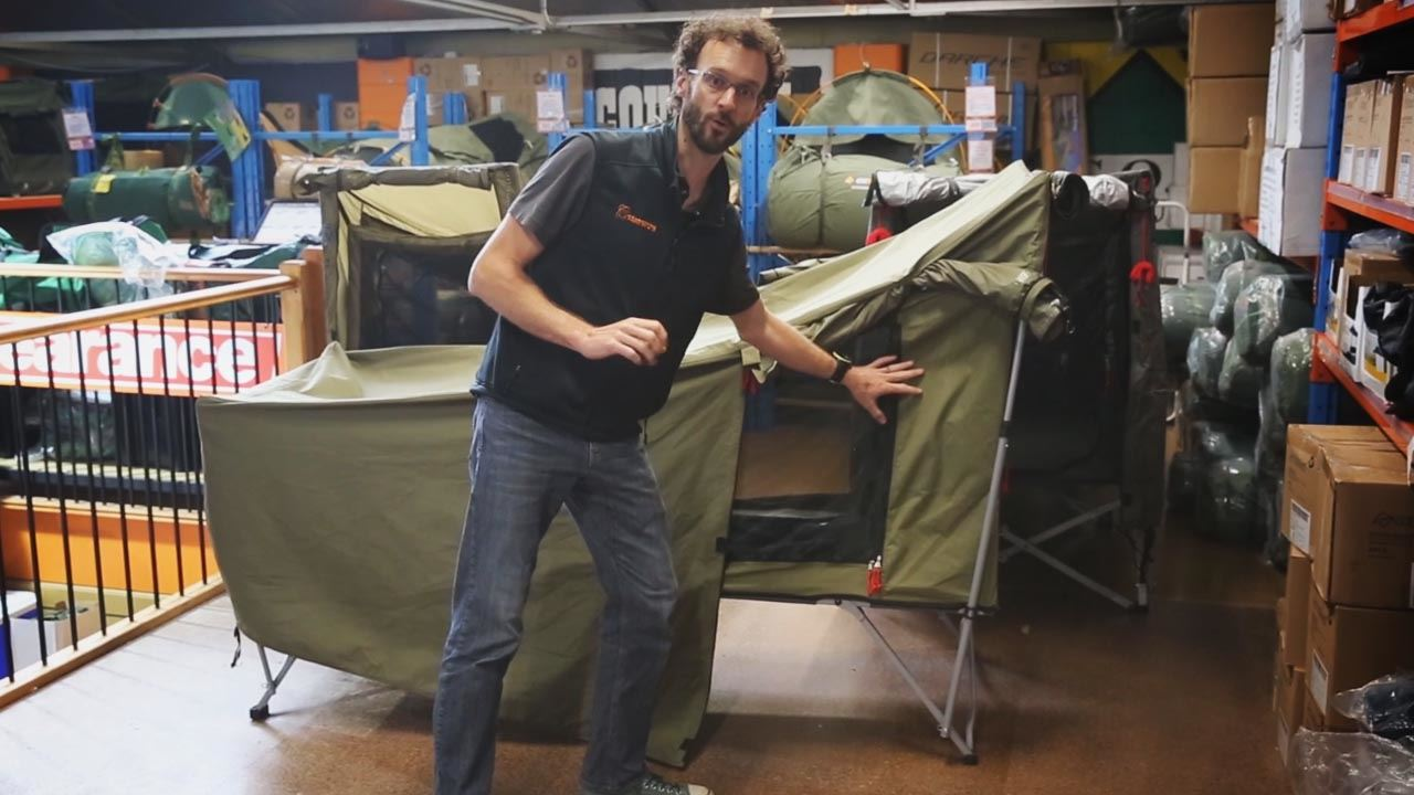Jet Tent Bunker Stretcher - Video