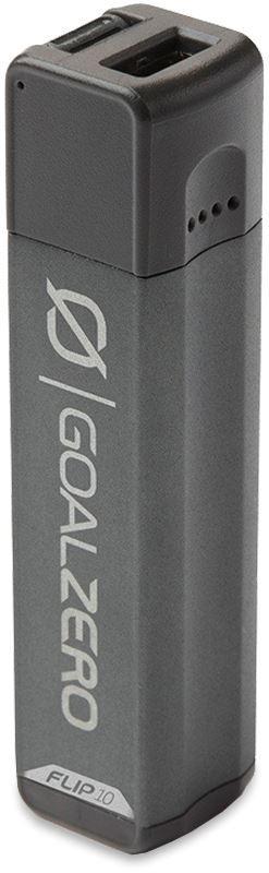 Goal Zero Flip 10 Portable Power Bank Recharger Charcoal Grey