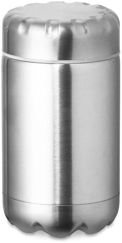 Fluid Insulated Double WallFood Flask - Stainless