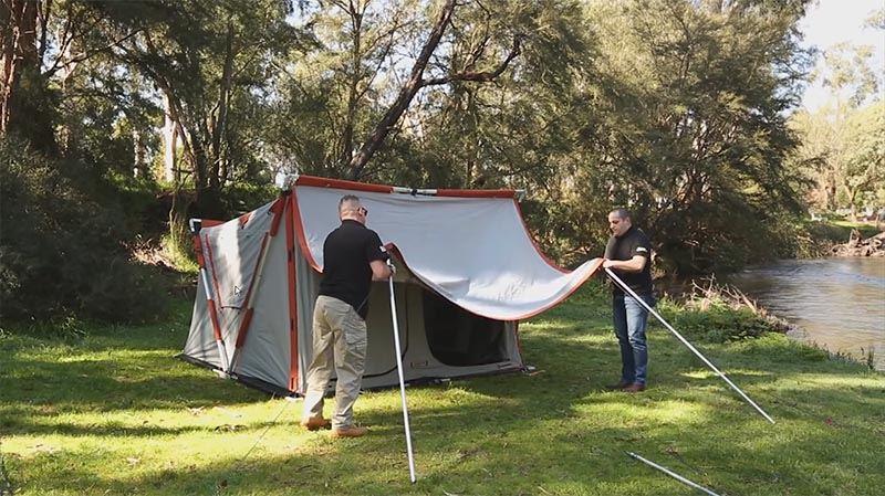 Speedy 4 Earth Tent - Video