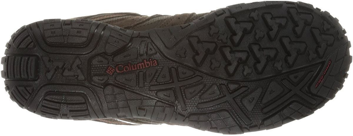 Columbia Redmond WP Men's Shoe Mud Garnet Red Sole