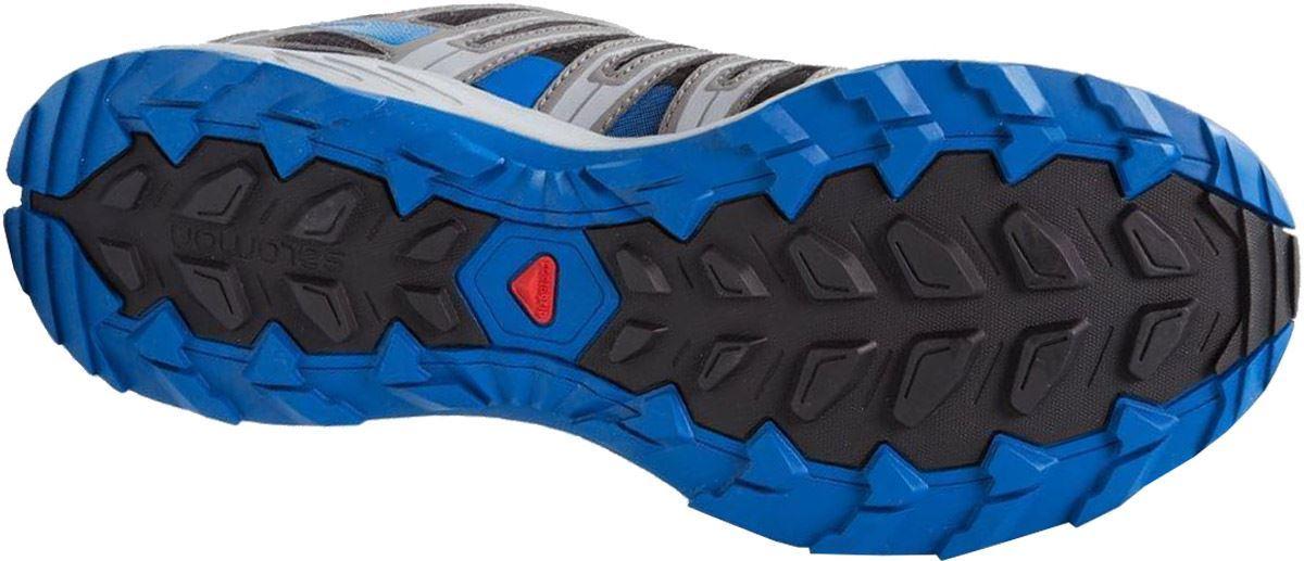 Salomon XA Lite Men's Shoe Black Shade Blue Sole
