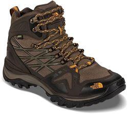 The North Face Hedgehog Fastpack Mid GTX Men's Shoe Mushroom Brown Brushfire Orange