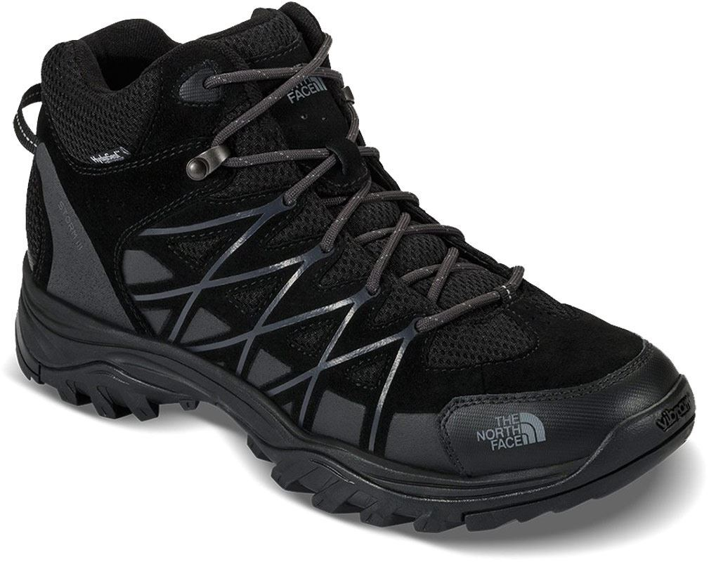 The North Face Storm III Mid WP Men's Shoe TNF Black Phantom Grey