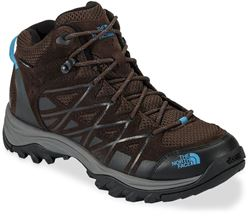 The North Face Storm III Mid WP Wmn's Shoe Demitasse Brown Hyper Blue Demitasse Brown/Hyper Blue