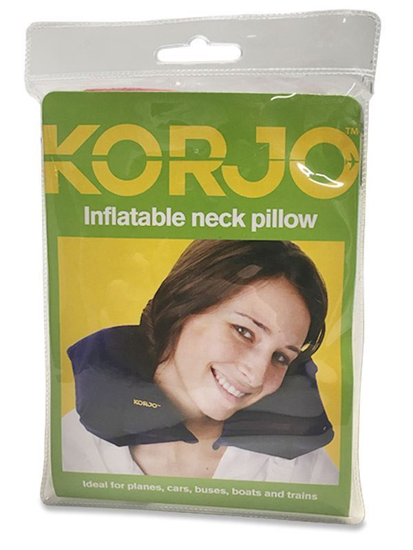 Korjo Inflatable Neck Pillow Red