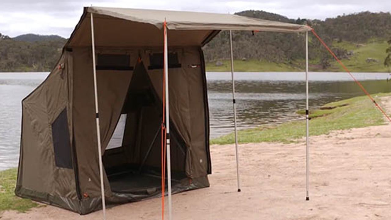 RV2 Canvas Touring Tent - Video