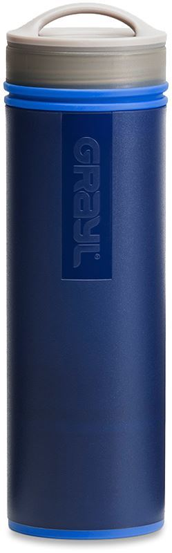 Grayl Ultralight Water Purifier & Filter Bottle Blue