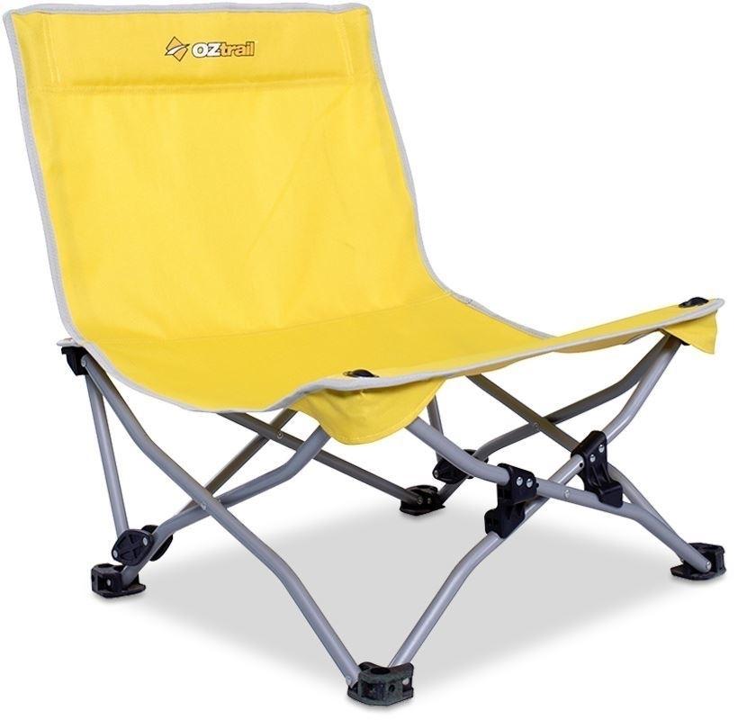 Oztrail Beachside Chair - Yellow