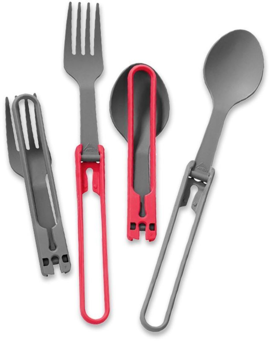 MSR Folding Utensils - Spoons & Forks