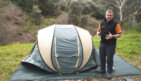 Easy Up 2 Pop Up Tent - Video