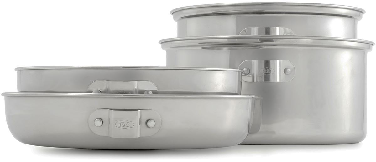 Picture of GSI Outdoors Glacier Stainless Cookset Medium