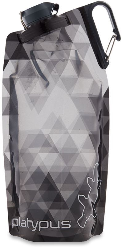 Platypus Duolock Softbottle 1.0L Gray Prisms