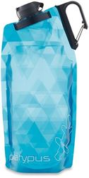 Platypus Duolock Softbottle 1.0L Blue Prisms