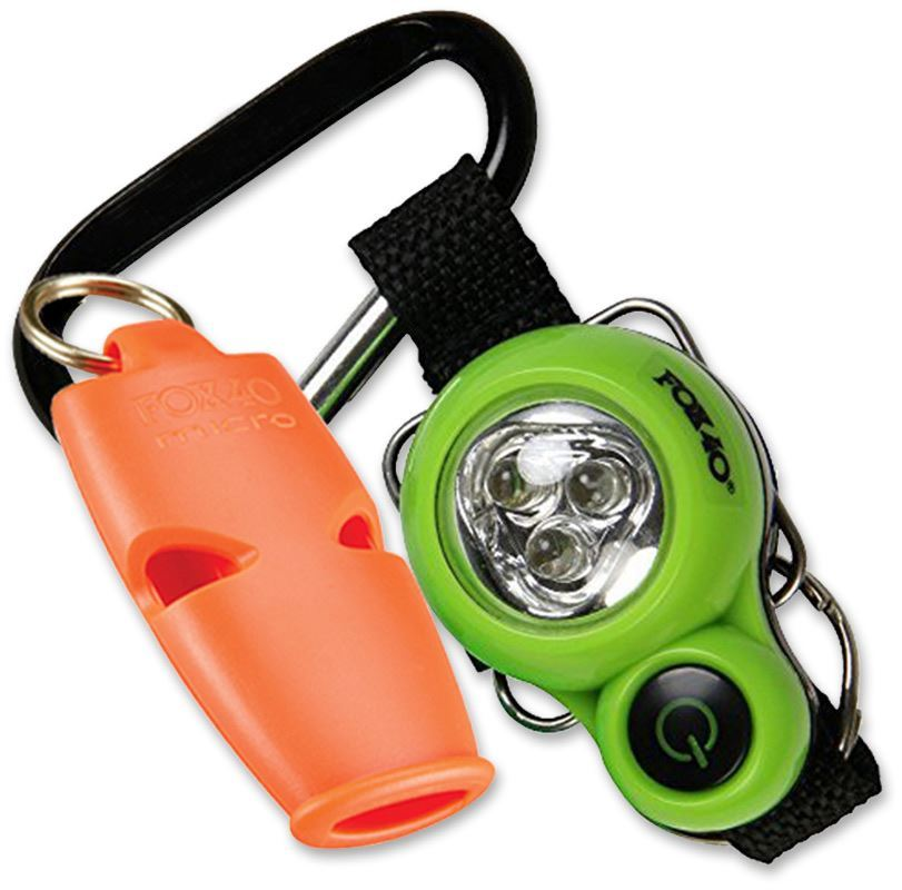 Fox 40 Xplorer™ Whistle & LED Light Orange