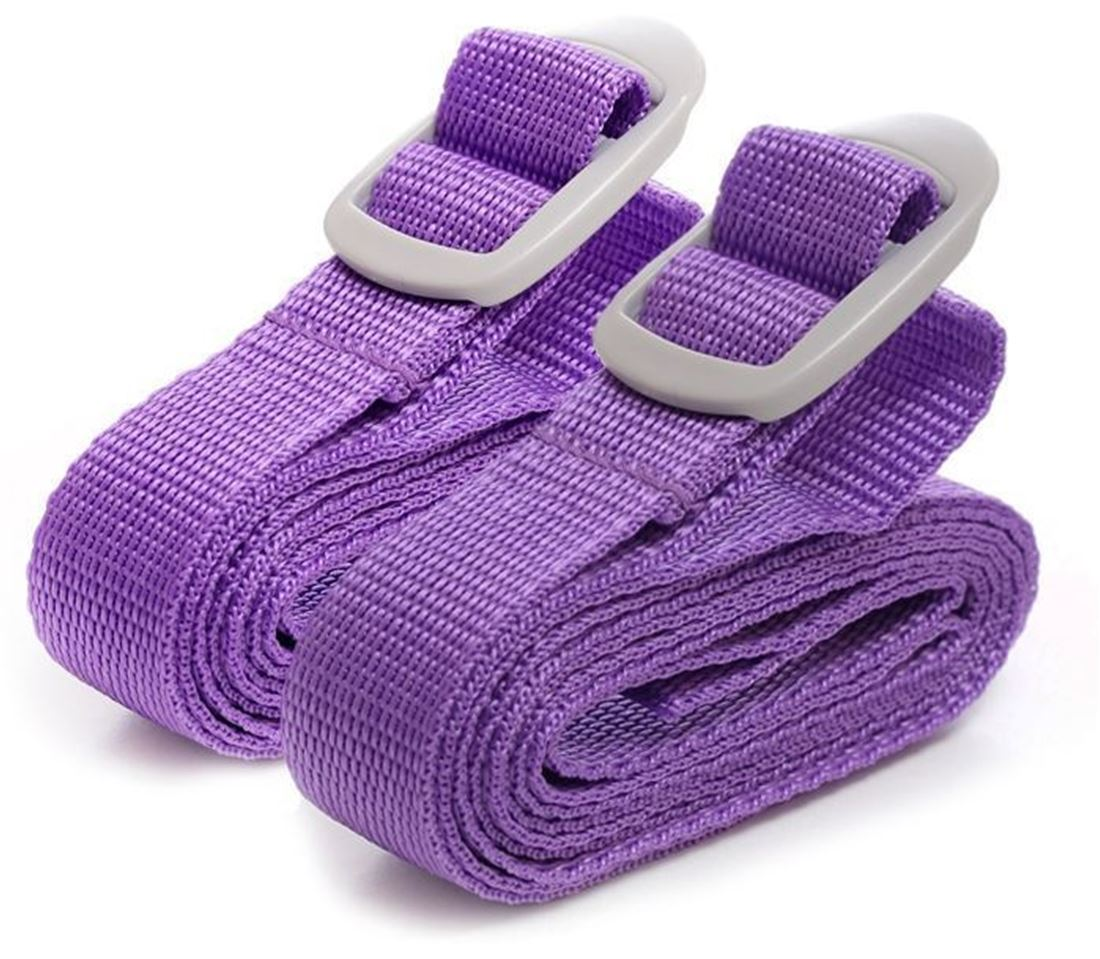 Go Travel Luggage Straps Purple