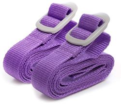 Go Travel Luggage Straps Purple