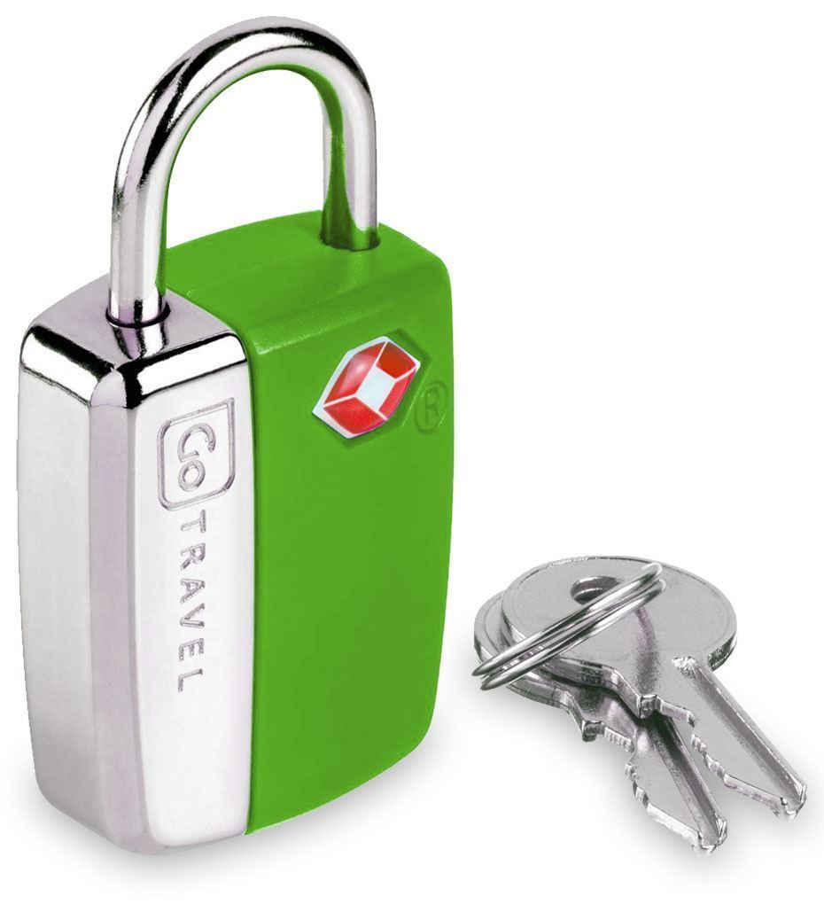 Go Travel Glo Travel Sentry Lock Green