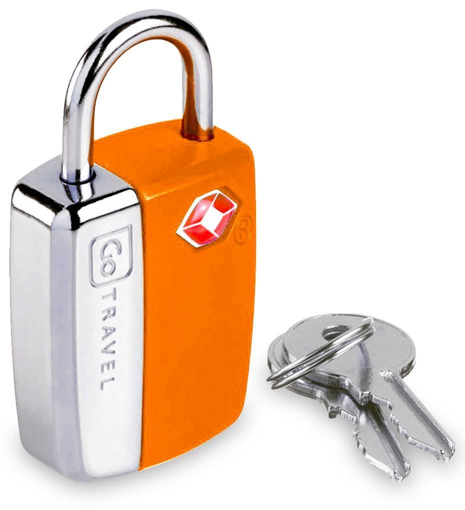Go Travel Glo Travel Sentry Lock Orange