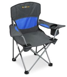Oztrail Junior Deluxe Arm Chair Blue