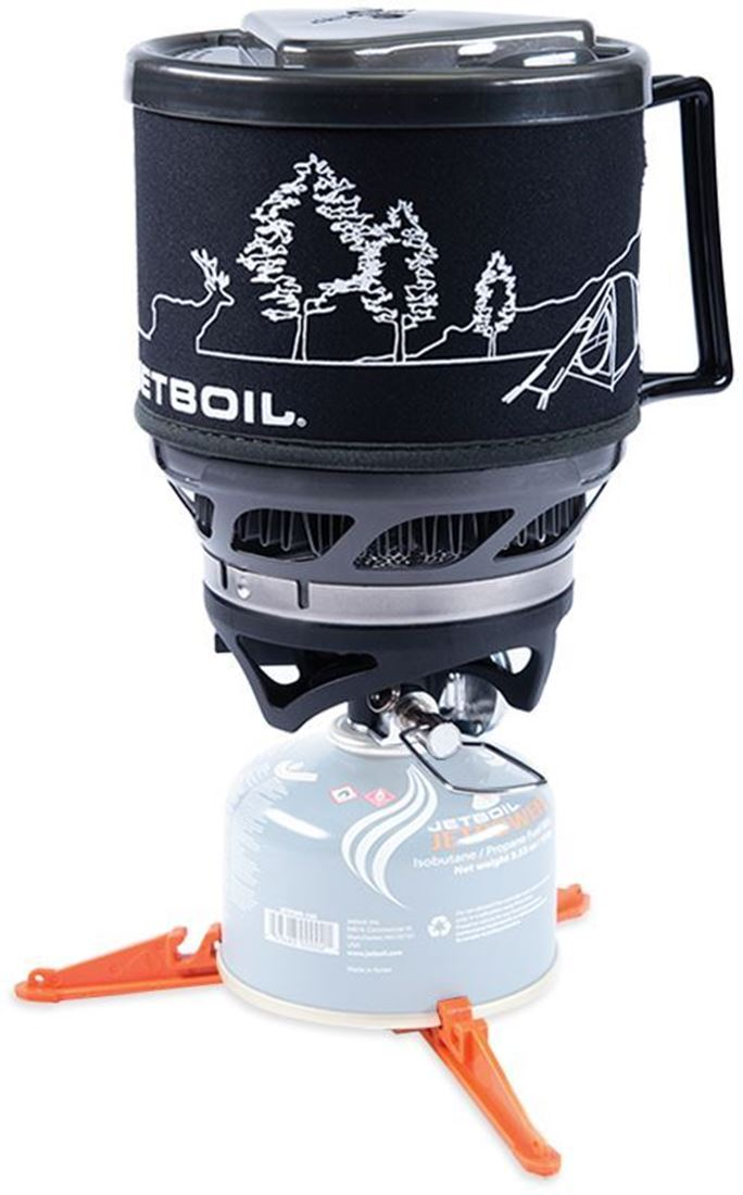 JetBoil MiniMo Hiking Stove - Black