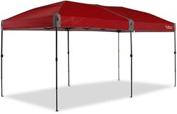 Oztrail Fiesta Compact 4.8 Gazebo Chilli Red