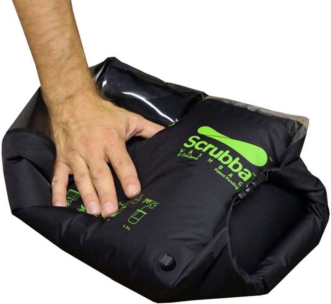 Scrubba Wash Bag Black