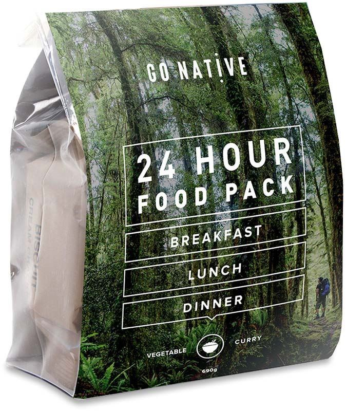 Go Native Vegetable Curry 24 Hour Food Pack