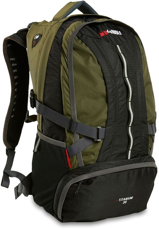 Black Wolf Titanium 35L Day Pack Black