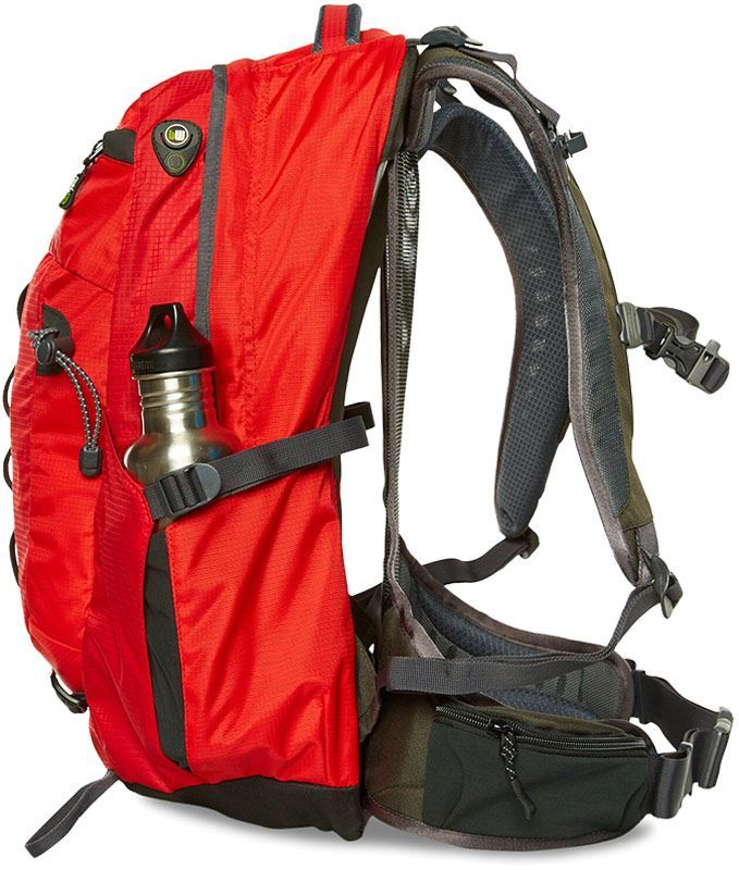 Black Wolf Tempo 30L Backpack Bottle Pocket