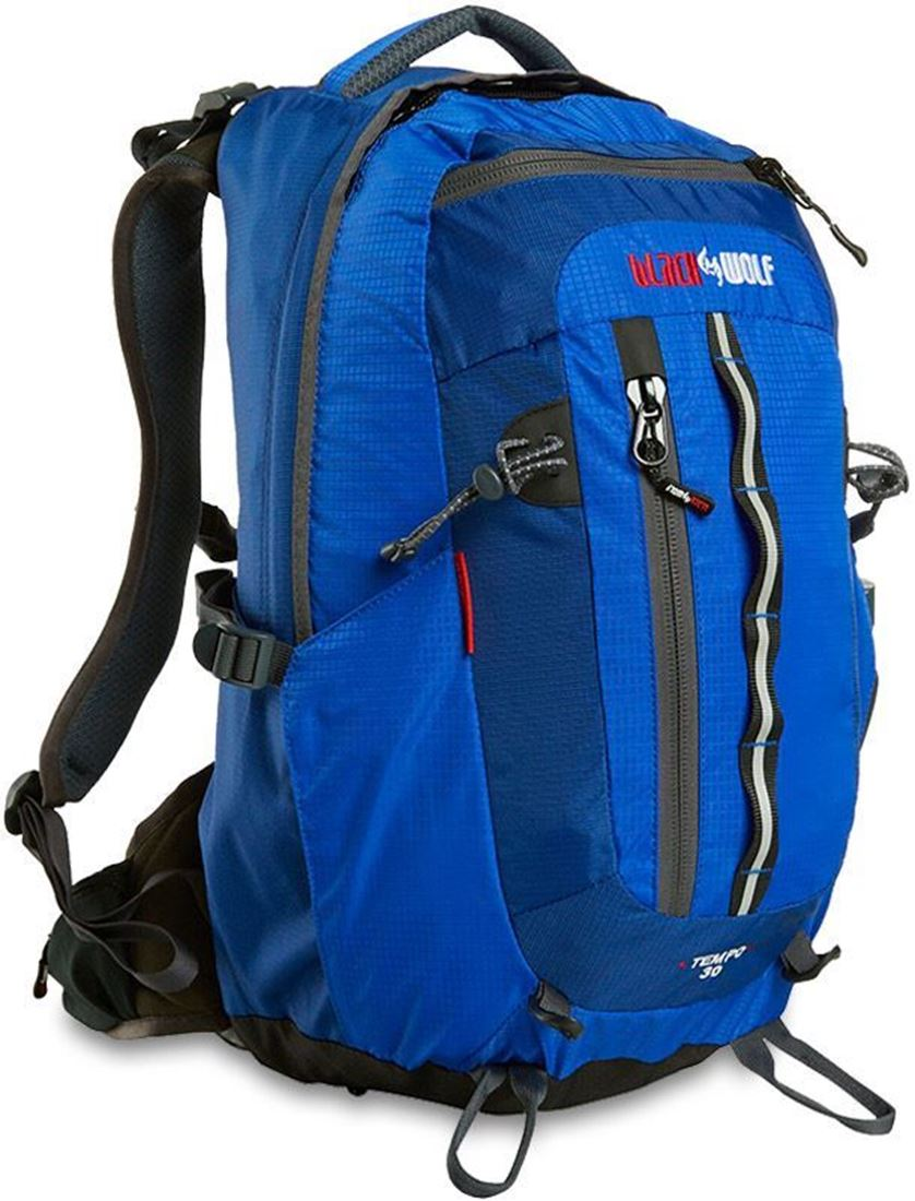 Black Wolf Tempo 30L Backpack Blue