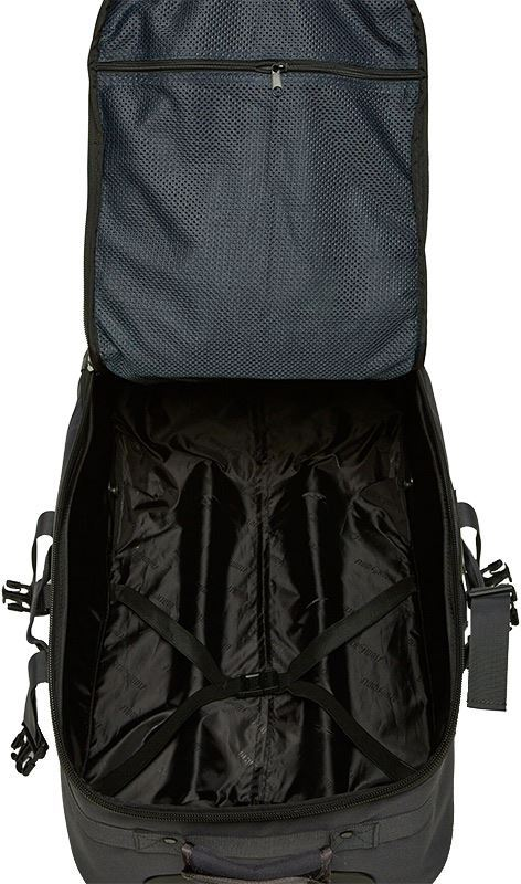 Black Wolf Ridgerunner 60 Wheeled Travel Pack Inside