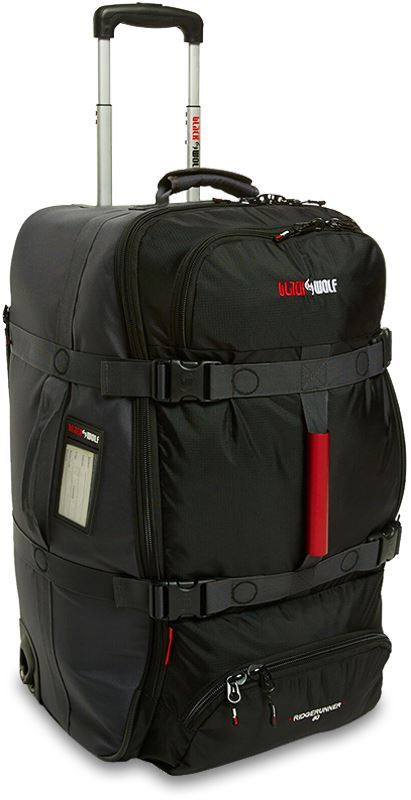 Black Wolf Ridgerunner 80 Black Travel Pack