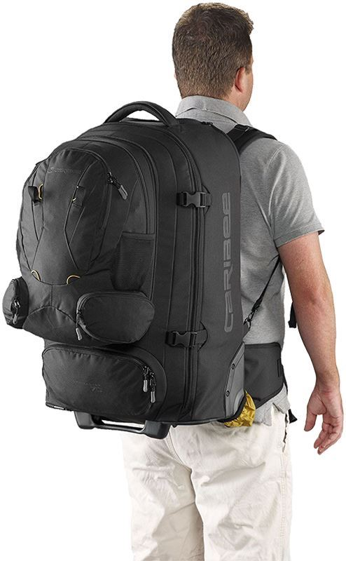 Caribee Sky Master 70 Wheeled Travel Pack