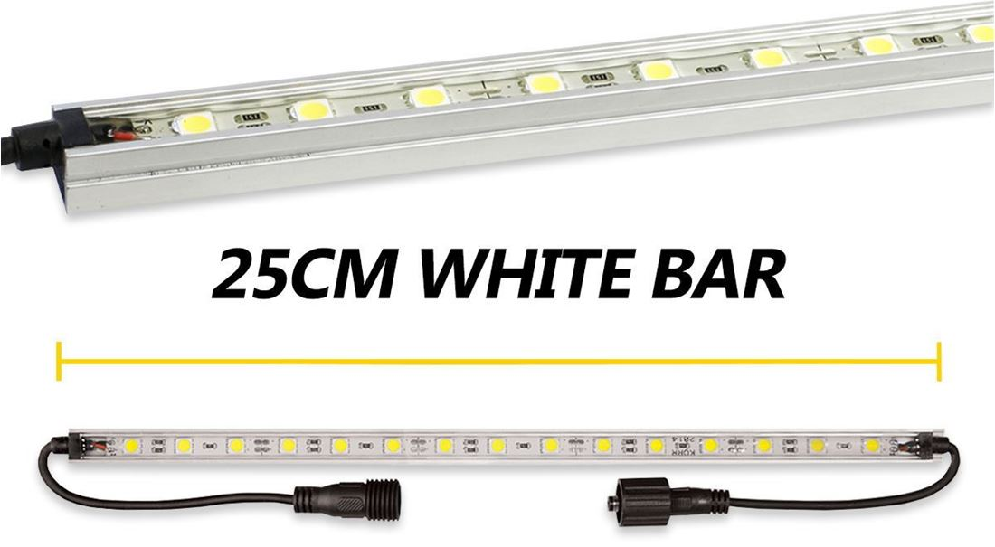 Hard Korr 25cm White LED Light Bar